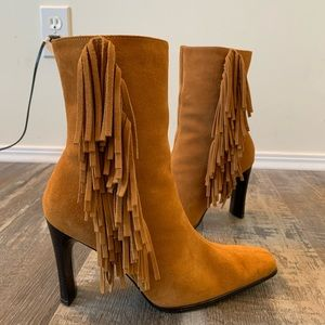 Predictions Leather Collection Boots